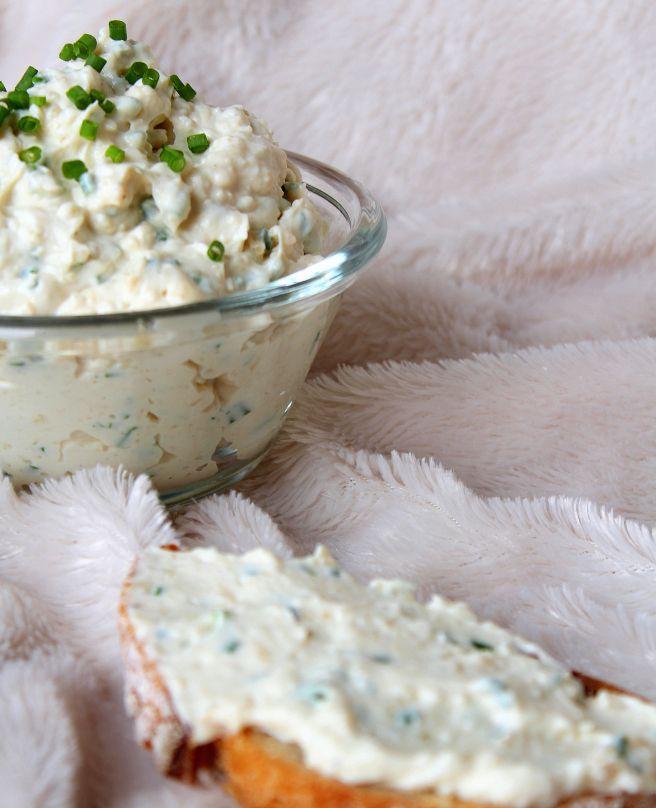Fromage frais type boursin recette vegan sans gluten sans lactose bio