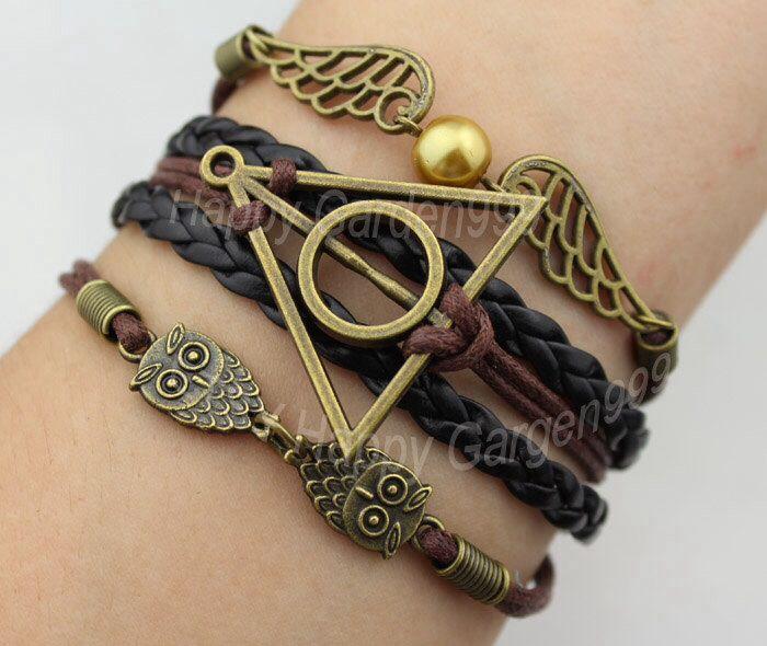 Pulseira Harry Potter.