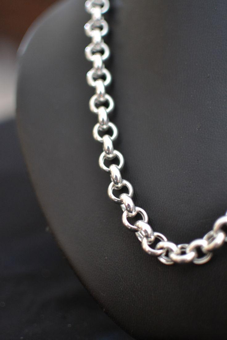 Belcher Necklace .... 10mm gauge.  Matching bracelet also available .... !