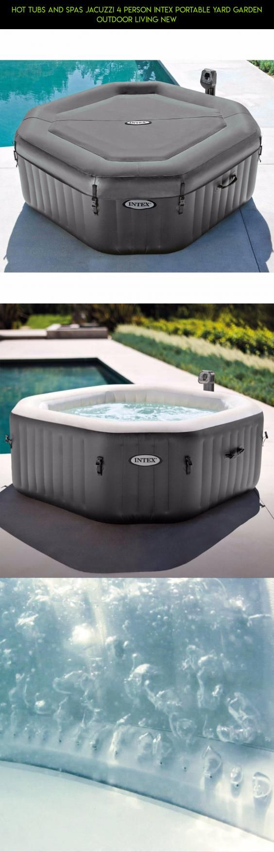 hot tubs and spas jacuzzi person intex portable yard garden outdoor living new products