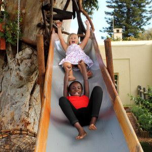 Imhoff farm. Blue Water Cafe - Restaurant with great playground and animal petting farm