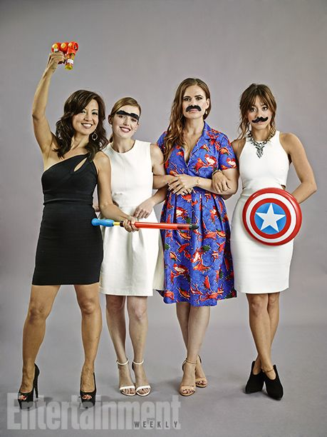 Ming-Na Wen, Elizabeth Henstridge, Hayley Atwell, and Chloe Bennett, Marvel's Agents of S.H.I.E.L.D.