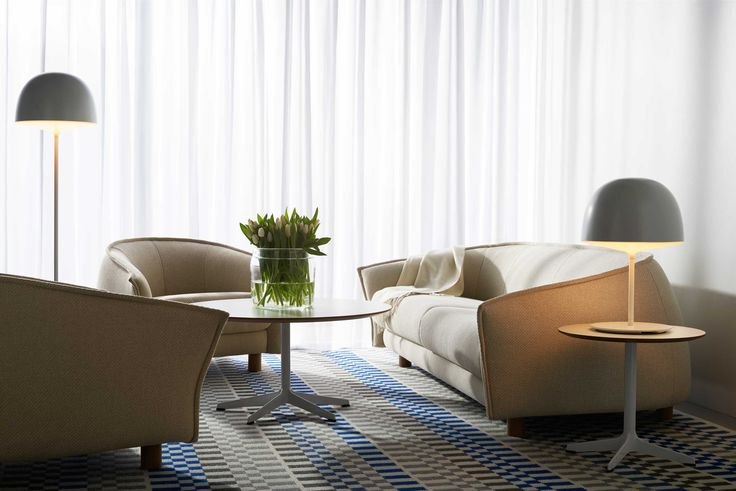 Swedese - Diva sofa and Diva esychair by Staffan Holm