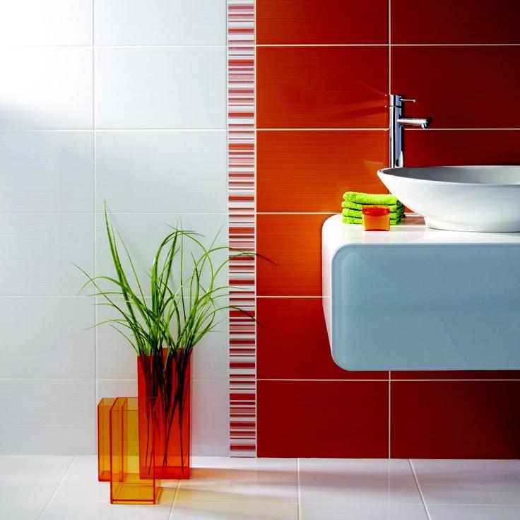 17 Best images about Bathroom in orange color on Pinterest ...