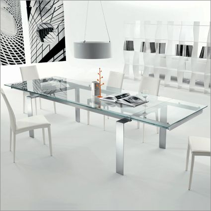Bontempi casa label extending glass table by erresse studio
