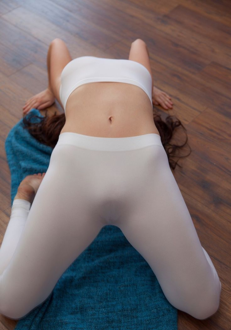 up yoga pants pussy