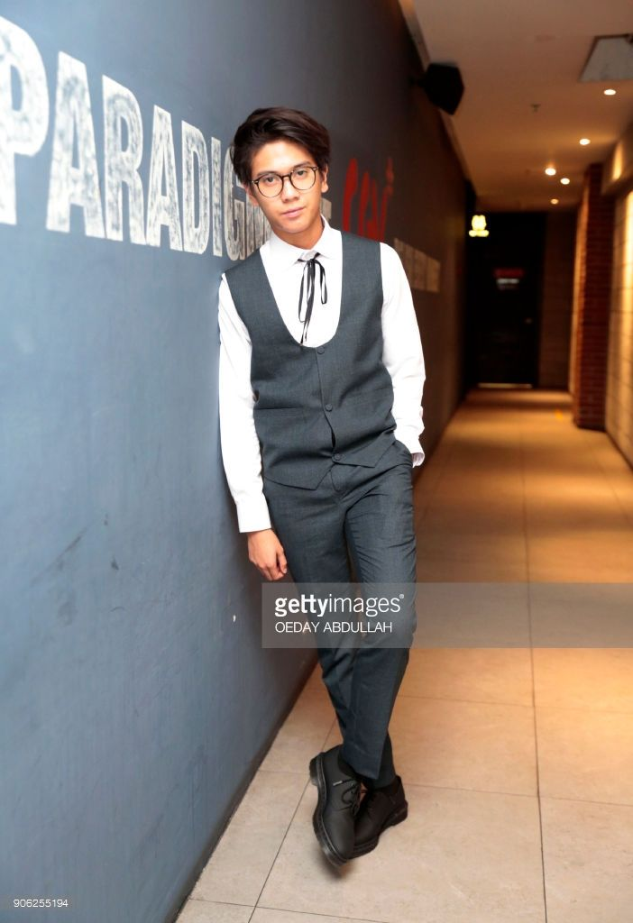 This Picture Taken On January 17 2018 Shows Indonesian Actor