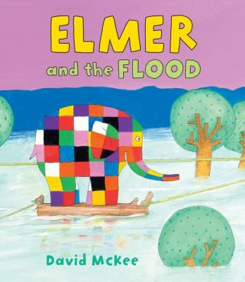 Cover image for Elmer and the flood