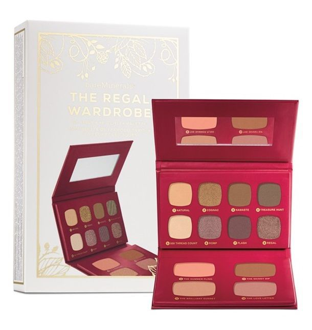 Holiday 2015 from Bare Minerals | Bare Minerals The Regal Wardrobe Set (LE) ($39)