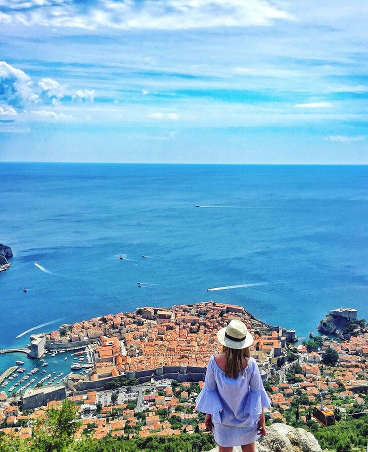 Dubrovnik, you're magic 💙 #view #dubrovnik #bestview#awesomecity