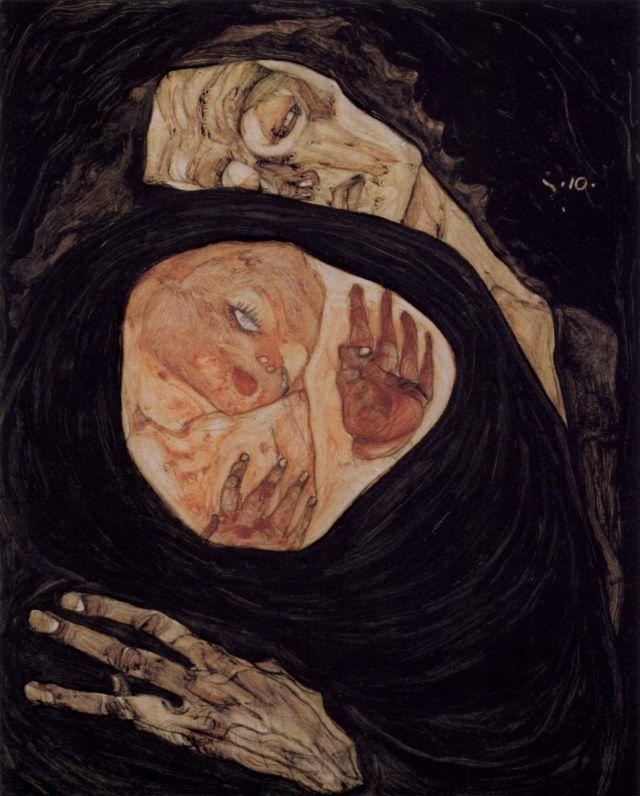Dead Mother, Egon Schiele