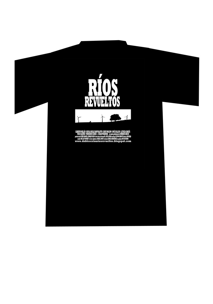 Camiseta del mediometraje Ríos Revueltos