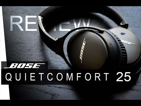 Bose QuietComfort 25 Acoustic Noise Cancelling headphones In Black Lose yourself in the world of music with the Quiet Comfort 25 Headphones from Bose®. With ...