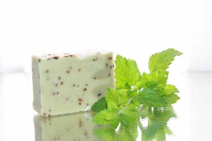 kecsketejes citromfű szappan