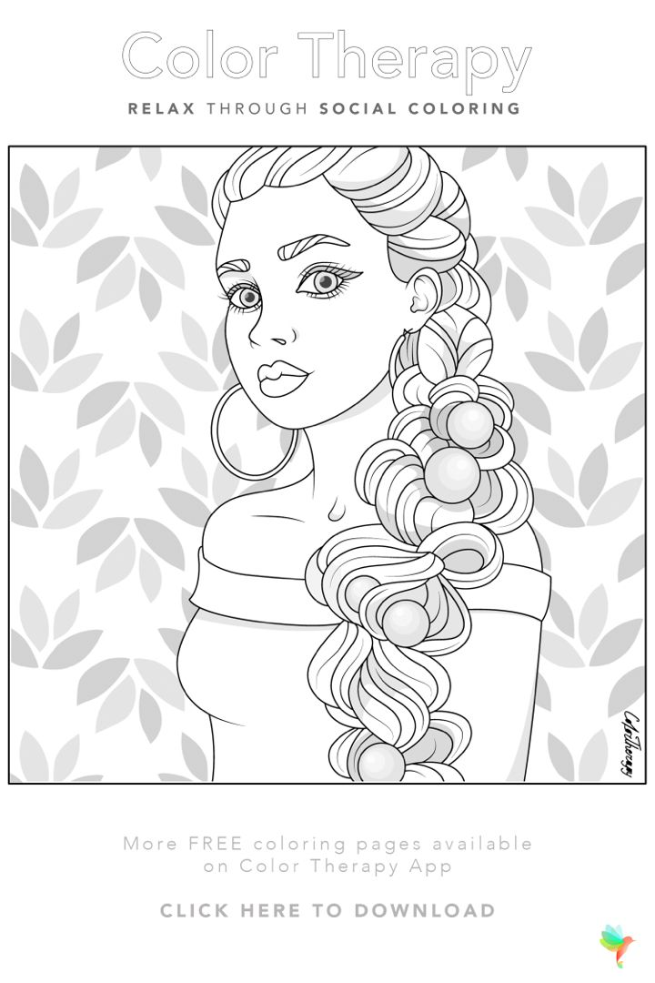 Color Therapy Coloring Number On The App Store Coloring Pages For Girls Coloring Book Art Free Coloring Pages