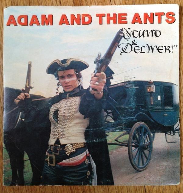 Adam & the Ants via @ei8htdesign