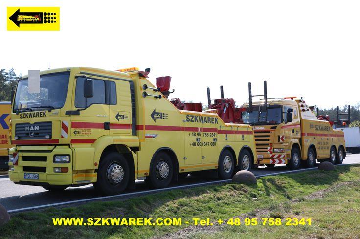 Abschleppdienst und Bergung Polen, Autobahn A2 Swiecko - Poznan, PKW, LKW Frankfurt Oder Slubice.
