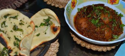 Let's Eat!: Keema and Naan Bread