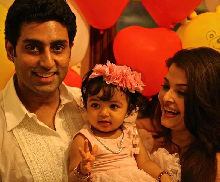 Cute Aaradhya Bachchan's 1st Birthday