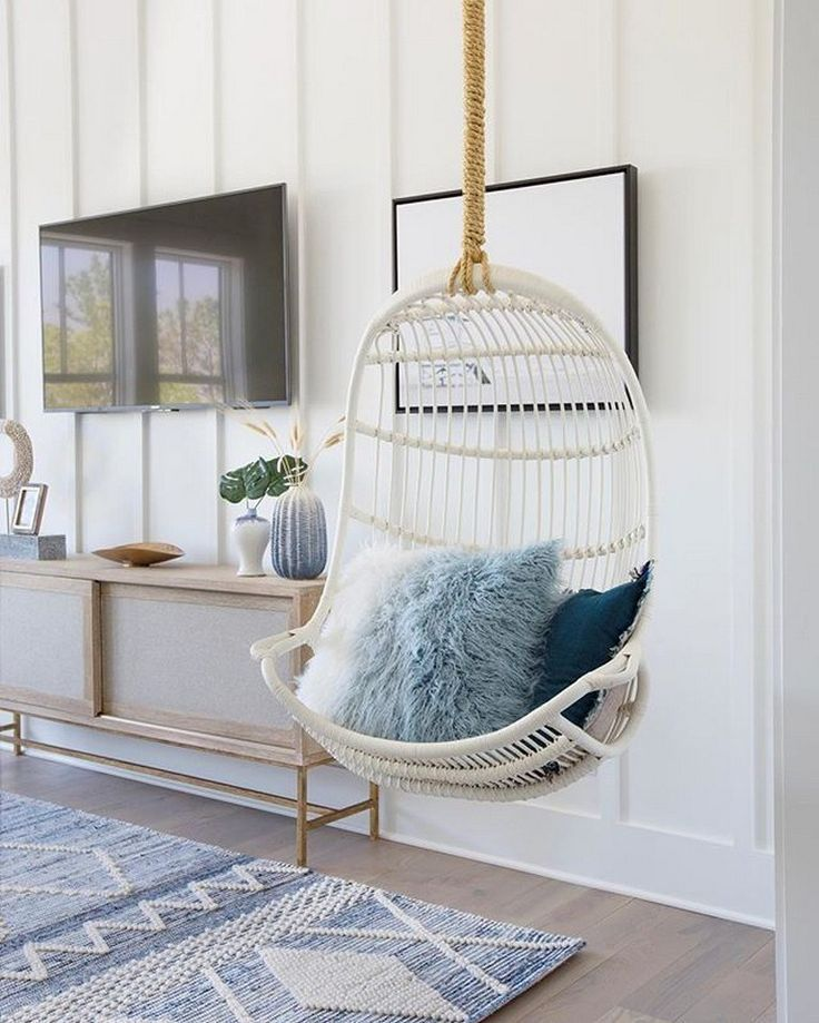 44 awesome indoor hanging chair ideas for home decor ideas