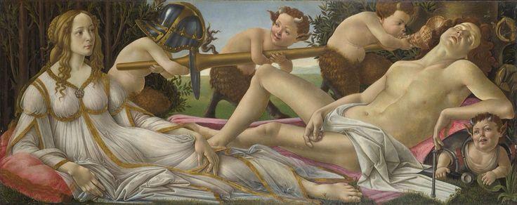 Venere e Marte Autore:Sandro Botticelli Data:1483 Dove:National Gallery,London