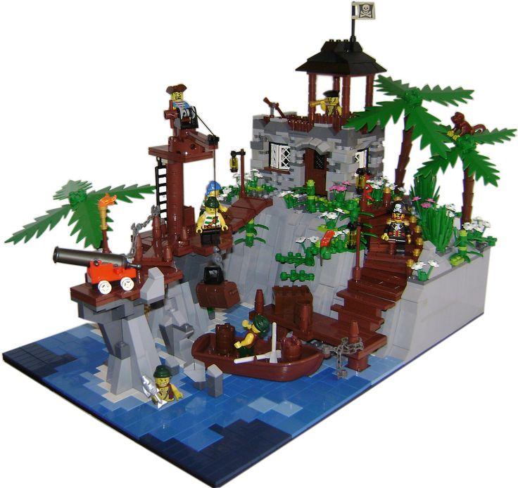 130 besten lego piraten bilder auf pinterest lego zeug lego moc und legos - Ile pirate lego ...