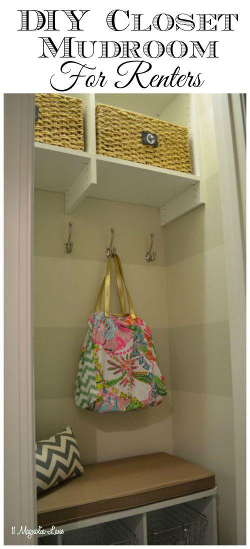 Foyer Closet Zone : Ideas about drop zone on pinterest coat hooks