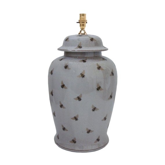 Bee Ceramic Jar Lamp Base Available online or instore at countryhomeinteri... or call us on 01636 816255 £150