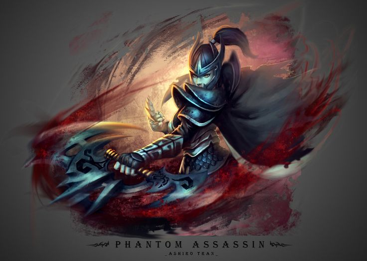 Phantom Assassin by AshiroK-on.deviantart.com #Dota2