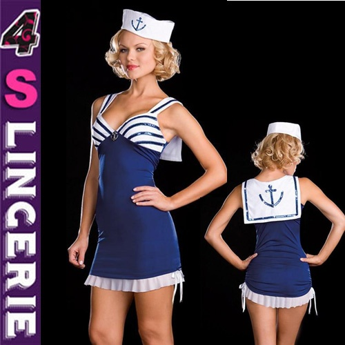 High quality cheap price sexy sailor costume CT1328-Wholesale Lingerie,China Lingerie Manufacturer,Cheap Sexy Lingerie,Sexy Costumes Supplies,lingerie manufacturer,sexy lingerie,lingerie supplier,cheap lingerie china,lingerie wholesale