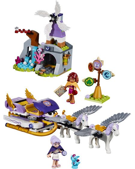 LEGO Elves - Aira's Pegasus Sleigh by Lego Systems, Inc. - $39.95