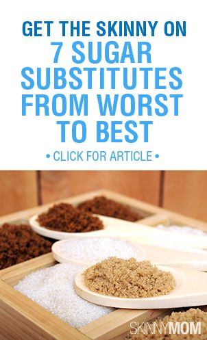 Do you use sugar substitutes? There's good and there's bad... Find out the best and the worst here!