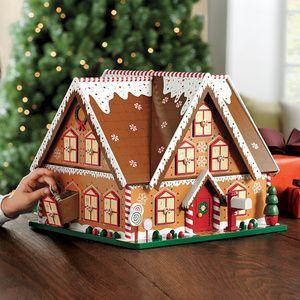 Advent Calendar Gingerbread House | Tikkido.com