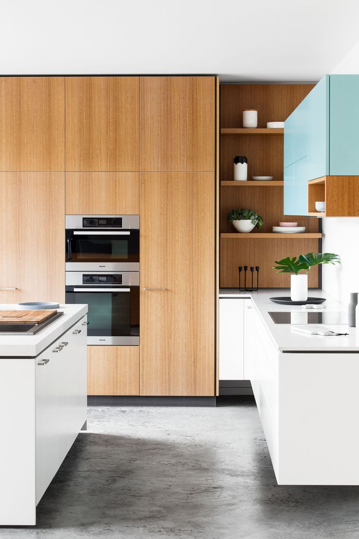 Division between cabinetry and bench top