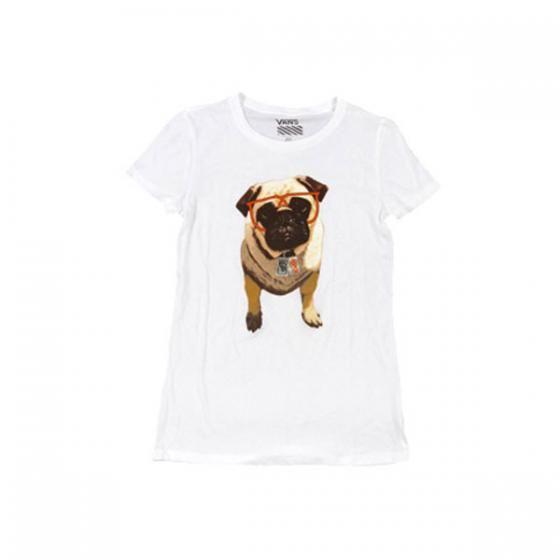 T-shirt Vans X Aspca Pug  pour Femmes