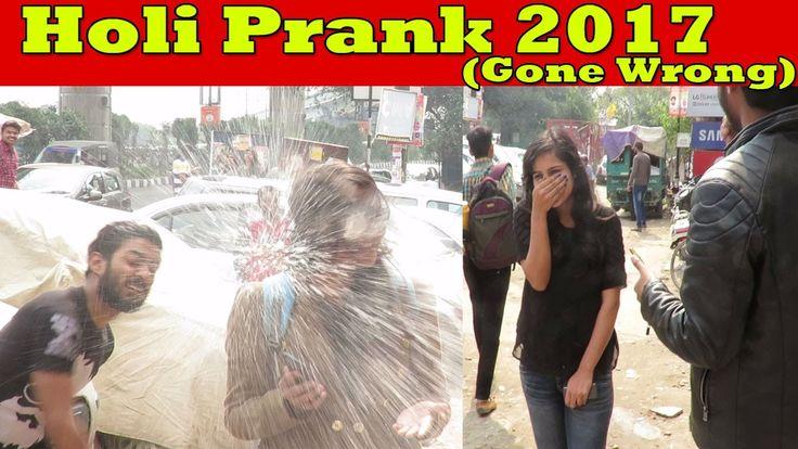 Happy Holi 2017 Prank on Cute Girls (Gone Wrong) | Pranks In India 2017 | Danger Fun Club