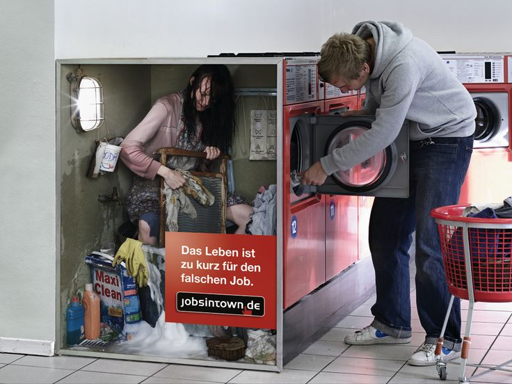 Jobs in Town.de 'washer':'Life's too short for the wrong job'