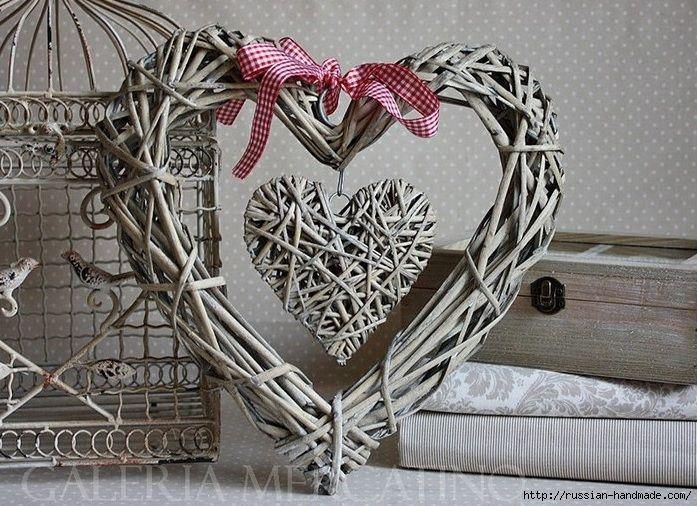 Сердечки из газетных трубочек. Мастер-классы (6) (697x506, 313Kb)