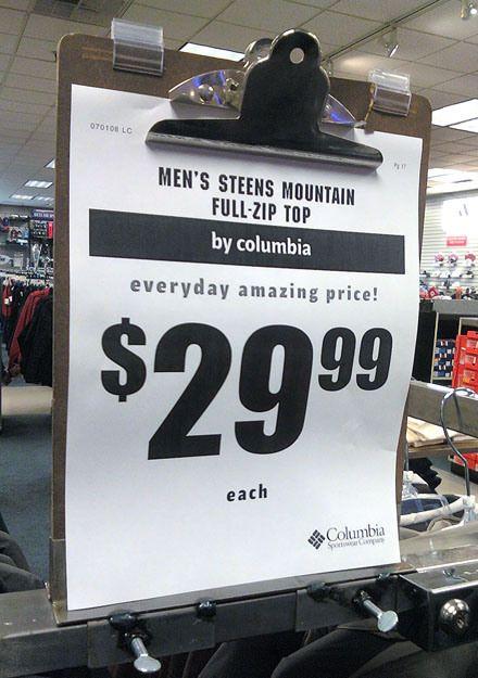store clipboard sales display - 440×625