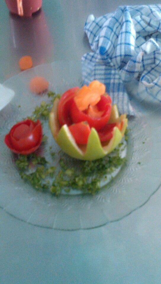 Garnish sayuran