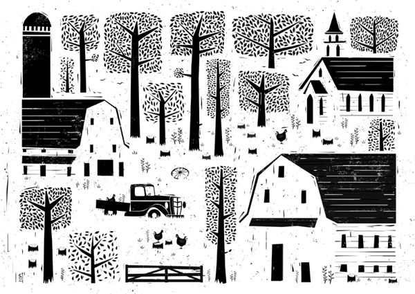 Homestead by Peter Donnelly, via Behance