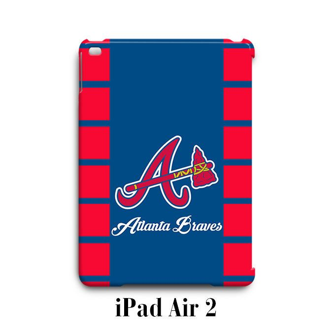 Atlanta Braves iPad Air 2 Case Cover Wrap Around