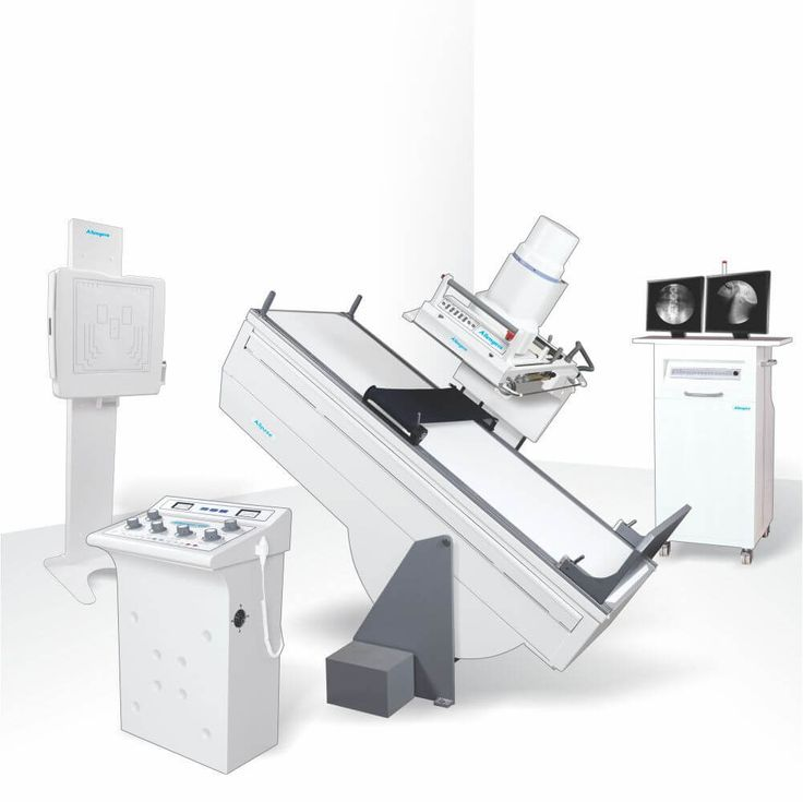 Allengers fixed X-ray systems have a control panel, All pose table with IITV system and vertical Bucky stand. Special features included are digital display, spot filming at all MA stations and electronic overload.