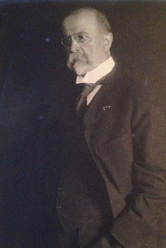 TGM - Tomáš G. Masaryk, prezident