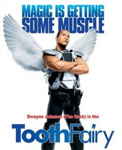 Toothfairy Movie. This was so funny, laughed just as watching the previews. Billy Crystal, Dwayne Johnson they are great funny.