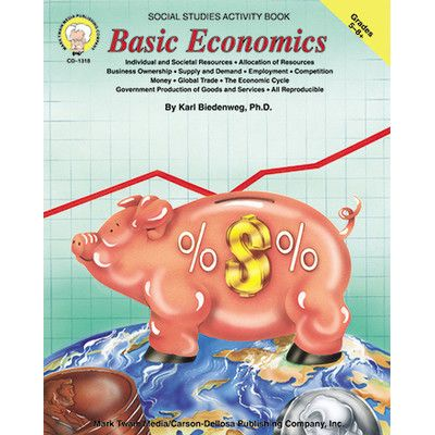 Carson Dellosa Publications Basic Economics Book