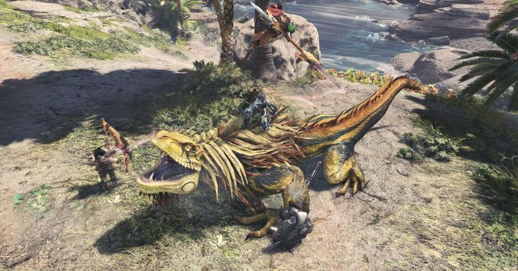 Humans pretended to be monsters for Monster Hunter World's motion capture