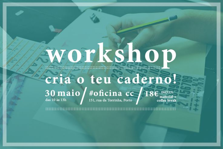beijaflor: Workshop | Cria o teu caderno!