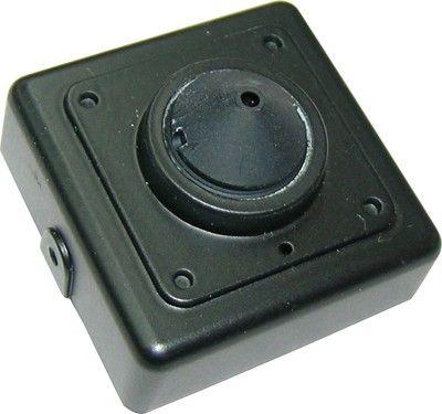 Cámara DNR700HP4 es una cámara oculta con 600 lineas de TV y cuya lenta finaliza en cono.