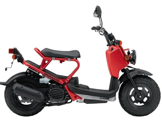 2009 Ruckus: Honda Ruckus Scooter